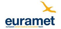 Logo euramet - European Areial Medical Evacuation Team