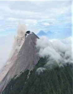 Mount Merapi, is an active stratovolcano located on the island Java. Our english pages are also in an active progress. They will be finished soon.